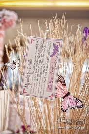 kara s ideas butterfly christening celebration baby