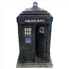 tardis ornament 8 5cm small resin aquarium ornament for the dr who