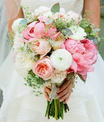 wedding flowers pink peony wedding bouquets centerpieces mywedding