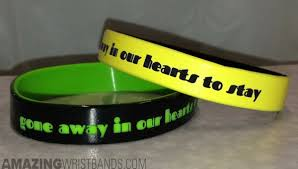 memorial bracelets for loved ones custom wristbands with in memory of a loved one quotes