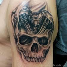 skull tattoo design on shoulder tattoo designs tattoo pictures