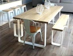 black dining table bench dining table with bench and chairs lesdonheures com