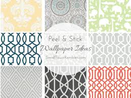 peel and stick wallpaper ideas