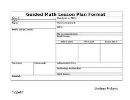 long range plan templates teaching resources teachers pay teachers