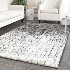 Grey Area Rug Trent Design Twentynine Palms Black Light Grey Area Rug