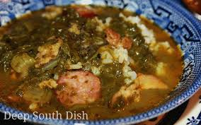 lot of 6 gumbo soup south dish green gumbo gumbo z herbes