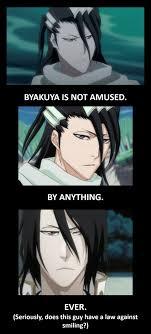 Bleach Meme - bleach meme byakuya is not amused 1 by pokemastershay on deviantart