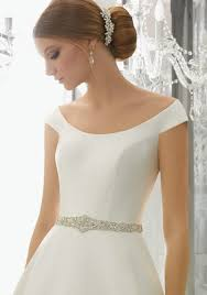 wedding dresses belts wedding dress belts cap sleeves morilee