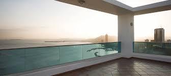 barandilla de cristal barandillas vidrio espesores dimensiones y recomendaciones