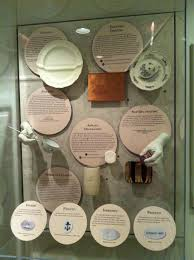 Ceramics crafting display from the DeWitt Wallace Decorative Arts