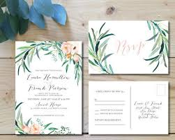 wedding invitation sets best 25 botanical wedding invitation sets ideas on