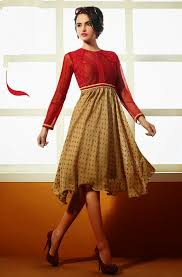 10 best glamorous kurtis to wear without leggings looksgud in