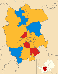 map of st albans st albans city and district council election 2003