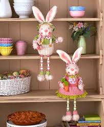easter bunny decorations vintage easter decor easter bunny decorations ltd commodities