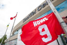 Saskatchewan Flag Gordie Howe U0027s Family Opens Visitation And Funeral To Public