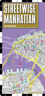 nyc oasis map streetwise manhattan map laminated city map of manhattan