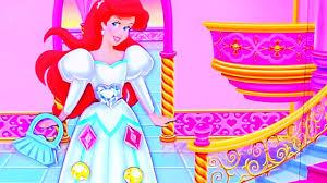 disney princess dress game princess aurora mermaid ariel