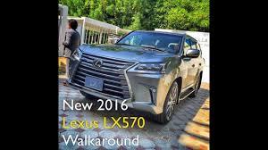 lexus 570 uae price 2016 lexus lx570 video walkaround in dubai youtube