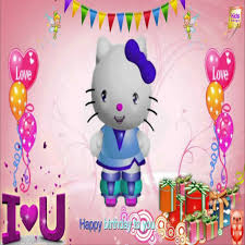 kitty happy birthday image