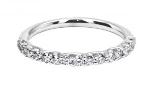 18ct white gold wedding ring buy a 18ct white gold 15 claw set wedding ring in 0 375