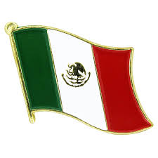 Pin Flags Mexico Lapel Pin