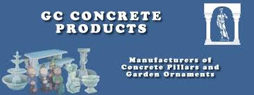 gc concrete manufacturers of concrete pillars and garden