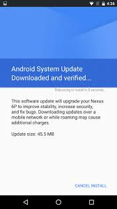 android security update update the nexus 6p and 5x