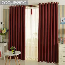 Insulated Window Curtains Thick Linen Curtain Thermal Insulated Blackout Curtains For Living
