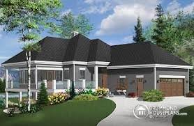 Lake House Plans Walkout Basement Home Plans And House Designs With Walkout Basement From