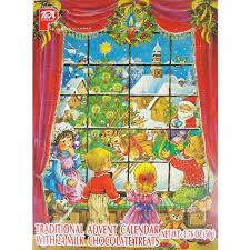 chocolate advent calendar pea traditional advent calendar with 24 milk