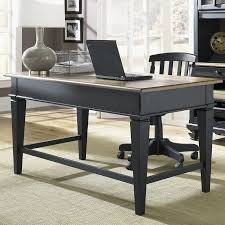 small black writing desk shop liberty furniture bungalow writing desk at lowes com