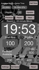 Blinds Timer Poker Blinds Timer Apps 148apps