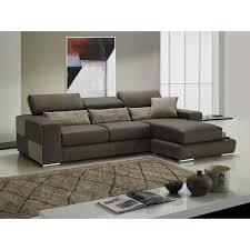 canape microfibre taupe canapé d angle moderne et classique au meilleur prix domino canapé