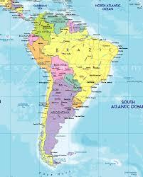 South America Map Islands by Sa Ca Trip