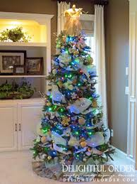 delightful order one christmas tree two different looks