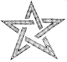 drawings star draw christmas star stepstep