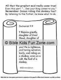 palm sunday lessons crafts activities children