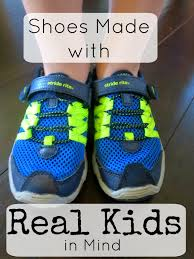 shoes made with real kids in mind
