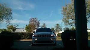 srt8 jeep modified 2014 jeep srt headlight drl modification youtube