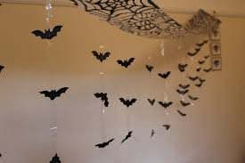 itp halloween bat attack from ceiling foil hanging decoration