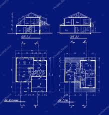34 home plans blueprint simple house blueprints royalty free