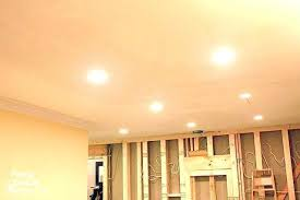 Installing Led Recessed Ceiling Lights How To Install Led Recessed Ceiling Lights Www Lightneasy Net