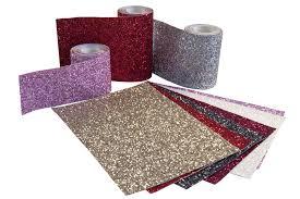 Home Decor Trims Chunky Glitter Fabric Grade 3 Wall Trim Bling Card Making Border