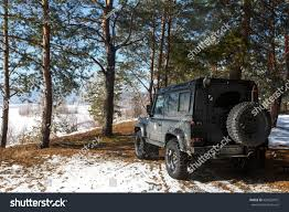 defender land rover off road samara russia february 2017 land rover stock photo 604523972