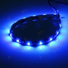 Neon Lights In Cars Interior Partsam 2x Blue Led Strip Lights Interior Glow Neon Lighting Car