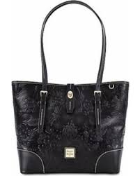 sweet deal on disney parks icons black sketch tote bag by dooney