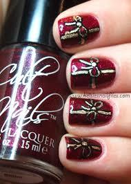 christmas nail nails nailart christmas themed nails