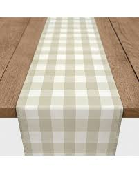 buffalo check table runner get this amazing shopping deal on beige buffalo check table runner