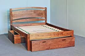 amazing of wood platform bed frame with reclaimed wood platform