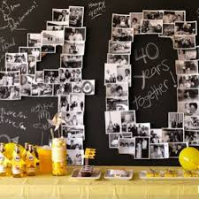 40th wedding anniversary party ideas 40th wedding anniversary party tip junkie